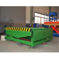 Buy cheap Fixed Hydraulic Truck Ramp Automatic Dock Levelers with Anti Skid Checkered Steel Plate from Wholesalers