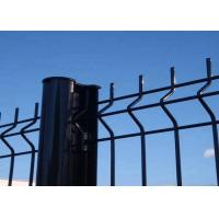 Buy cheap Security Garden PVC Coated V Folds Welded Wire Fence 50 X 200 MM Mesh from Wholesalers