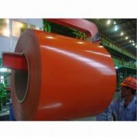 China Color-coated Steel Coils with 508mm Inner Diameter factory