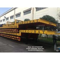 Buy cheap Heavy Duty Used Truck Trailers , Lowboy Low Bed Semi Second Hand Truck Trailers from Wholesalers