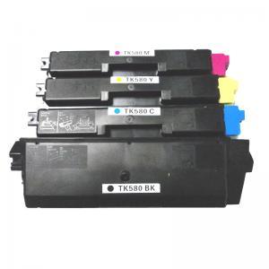 China Compatible Kyocera Color Toner Cartridges TK-580 CMYK factory