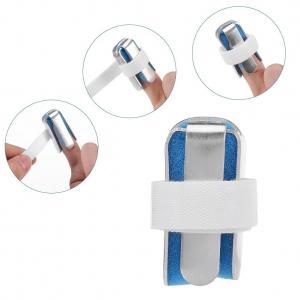 China Finger brace for arthritis several types available metal finger splint blue color on sale