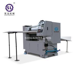 China Manual Sheet Feeding Paper Embossing Machine 60m/min for Calendars factory