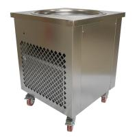 Buy cheap Simple Operation Manual Fried Ice Cream Roll Machine Single Pan Cold Plate from wholesalers