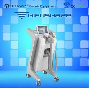 ultrasound therapy vertical HIFUSHAPE body slimming machine/non invasive lipo