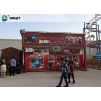 China Amazing 7 D Movie Theater For Cabin With Poster SGS GMC Easy Installation factory