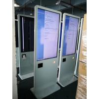"China All In One Pc Lcd Touch Screen Kiosk 43"" With Thermal Printer / Qr Code Scanner factory"