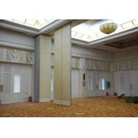 Buy cheap Veneer Gypsum Acoustic Folding Partitions , Accordion Folding Partitions For Restaurant from Wholesalers