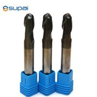 China Flat 6mm Carbide End Mill Overall Length 50-150 ISO Certification factory