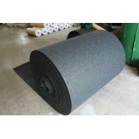 China Wear Resistant Rubber Flooring Sheet Roll Width 15-60mm For Tennis Court factory
