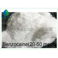 China Pharmaceutical Raw Materials Benzocaine 20-50 Mesh for Pain Reliever 94-09-7 on sale