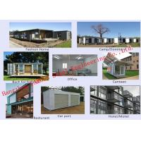 Buy cheap Modern Environmental Prefab Container House Multi - Functional Mobile House Easy Assembling from Wholesalers