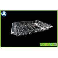 Buy cheap Biodegradable Clear Plastic Food Packaging Trays With Compartments from Wholesalers