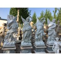 China Outdoor garden marble stone statues park marble couple sculptures ,China stone carving Sculpture supplier factory