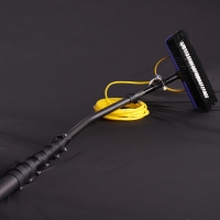 Buy cheap 15m cone 30ft carbon fiber telescopic window cleaning pole from wholesalers