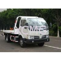 China Durable 6 Tons Wrecker Tow Truck , Flatbed Breakdown Recovery Truck For Rescue Conditions factory