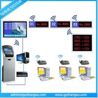 Quality Bank Service Counter Wireless LED/LCD display Token Number queuing management system wholesale