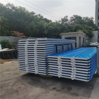 China 1050 type 30mm eps construction roof panels with protective film for roofing factory