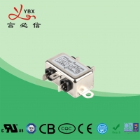 China Low Pass Small Size EMI Single Phase RFI Filter For Audio Equipment factory