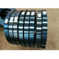 China Cold Rolled Carbon Steel Sheet / Spring Steel Strip 65Mn Heat Treatments HRC 40 factory