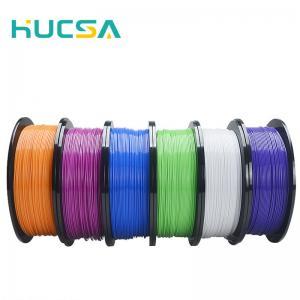 China Hucsa China Factory Sale 1kg/5kg flexible 3d printer pla filament 1.75mm/3mm 3d printing on sale