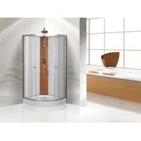 Buy cheap Custom Quadrant Sliding Door Shower Cubicles , Curved Shower Glass Enclosure from Wholesalers