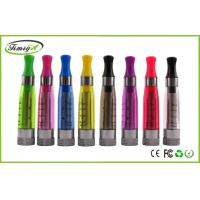 China 2.4 ohm E cig Dual Coil Clearomizer With Changeable Coil Head , Ce5 Plus Atomizer No wick factory