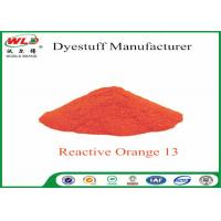 Buy cheap ISO Fabric Color Dye Reactive Brill Orange K-7R C I Reactive Orange 13 from Wholesalers