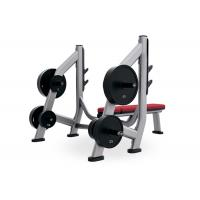 China Black Silver Color Weight Bench And Squat Rack Rust Proof Surface Treatment on sale