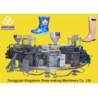 Buy cheap Rain / Water Boot / Gumboot Dual Injection Molding Machine Rotary Type from Wholesalers