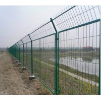 China Black Welded Wire Fence Panels Welded Wire Mesh Fencing Panels Galvanized Welded Wire Mesh Panels on sale