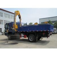 China High Quality 5T Mobile Knuckle Truck Mounted Crane With Safety Transportation for Sale factory