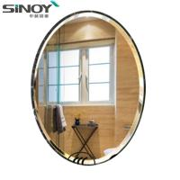 China Frameless Bathroom simple mirror for WC factory