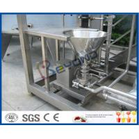China Skid Mounted 1000L / H Dairy Products Machinery , Milk Processing Plant  With Cream Separator on sale