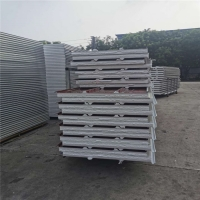 Buy cheap waterproof prefabricated sandwich panels 75mm thickness for construction from wholesalers