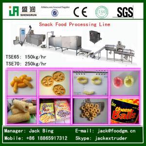 China Puffed Corn Snack Food Extruder Machine on sale
