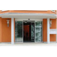 Buy cheap Emergency exit Automatic Glass Sliding Doors MC Nylon Antifraying pulley from Wholesalers