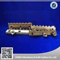 Buy cheap HRC 56-58 Plastic Cutting Blade / Industrial Shredder Blades Small Thermal Deformation from Wholesalers
