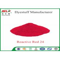 Buy cheap Textile Dyeing Chemicals Reactive Brill Red K-2BP C I Reactive Red 24 from Wholesalers