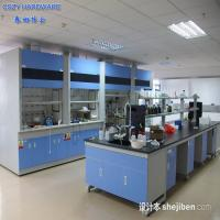 Buy cheap Customized Functional simple chemistry laboratory fume hood equipment furniture cupboards from Wholesalers