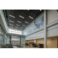 China Aluminum Vertical Screen Ceilings Modern Decorative Suspended Acoustically factory