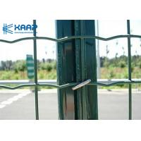 China 4'' X 2'' Welded Wire Fence Panels , Stainless Steel Wire Mesh Panels Garden Applied on sale