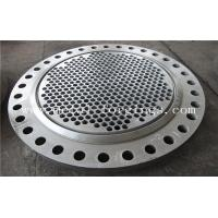 China Tube Sheet Double Stainless Steel Forged Disc 1.4462, F51, S31803 F60, S32205 F53, S32750 factory