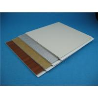 Buy cheap Customized Colour Pvc Wall Cladding Panels For Construction , Quick Maintenance from wholesalers