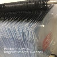 China Poly Clear Plastic Hanger Covers Dry Cleaning Bags On Roll For Shirt,Hanger hook plastic bags zipper bag manufacturers factory