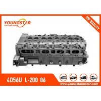 Buy cheap MITSUBISHI Complete Cylinder Head For 4D56U  L-200  06=> TRITON  16V  2.5tdi  1005A560 from Wholesalers