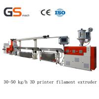 Buy cheap 30 50 Kg / H 3D Printer Filament Extruder / Extrusion Line , ABS Pla Filament Extruder from Wholesalers
