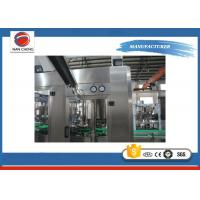 Electric Aluminum Can Filling Machine Stainless Steel For Carbonated Beverage