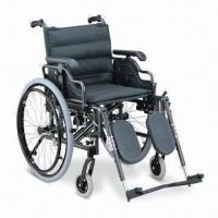 China Wheelchair with Aluminum Frame and Flip-up Desk Armrest factory