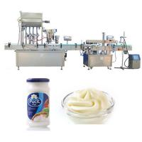 Buy cheap Pneumatic Four Heads Sauce Paste Bottle Filling Machine For Glass Bottle from wholesalers